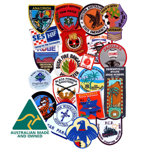 Australian Made Badges